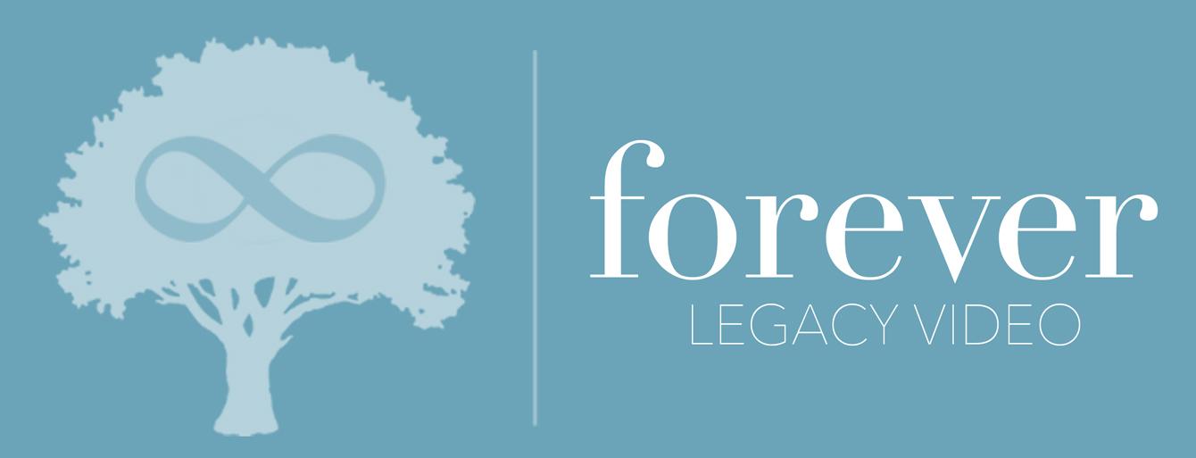Company logo with tree and infinity symbol